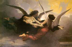 A Soul Brought to Heaven – William-Adolphe Bouguereau