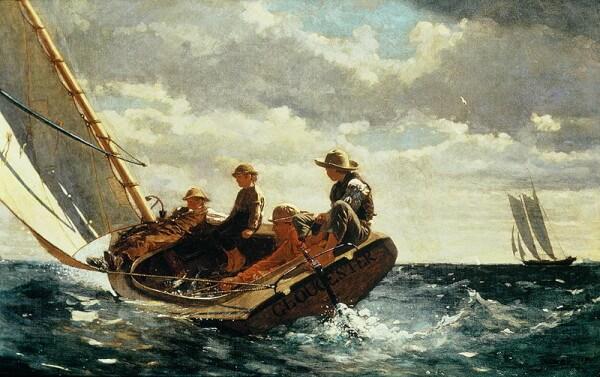 Breezing Up – Winslow Homer