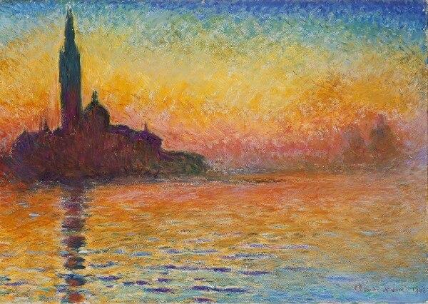 San Giorgio Maggiore At Dusk – Claude Oscar Monet