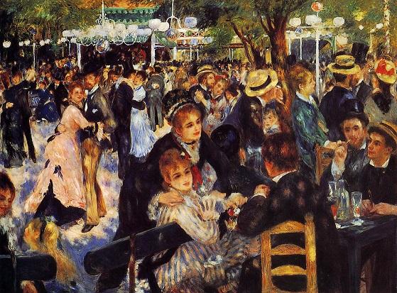 Dance at the Moulin de la Galette 1876