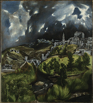 View of Toledo – El Greco