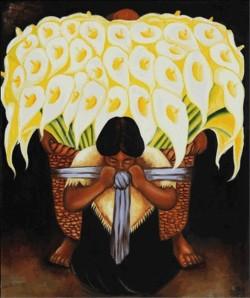 El Vendedor De Alcatraces - Diego Rivera