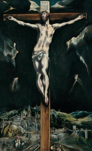 The Crucifixion - El Greco