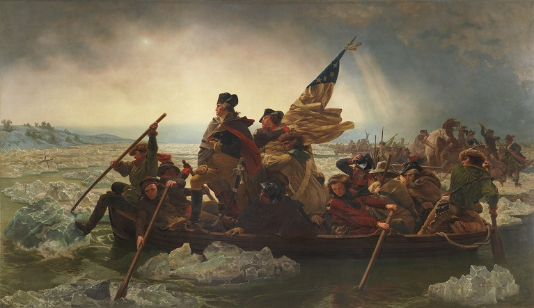 Emanuel Leutze - Washington Crossing the Delaware 1851