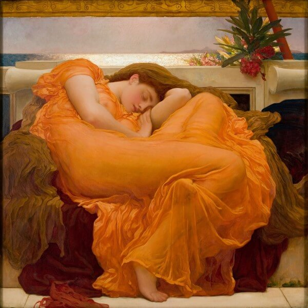 Flaming June – Sir Frederic Leighton