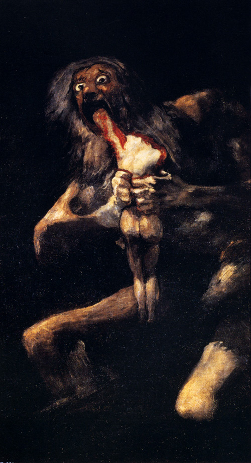 Saturn Devouring His Son – Francisco Goya