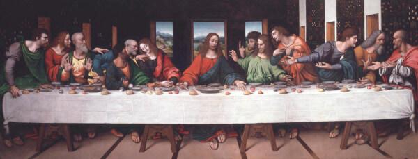 The Last Supper – Leonardo da Vinci