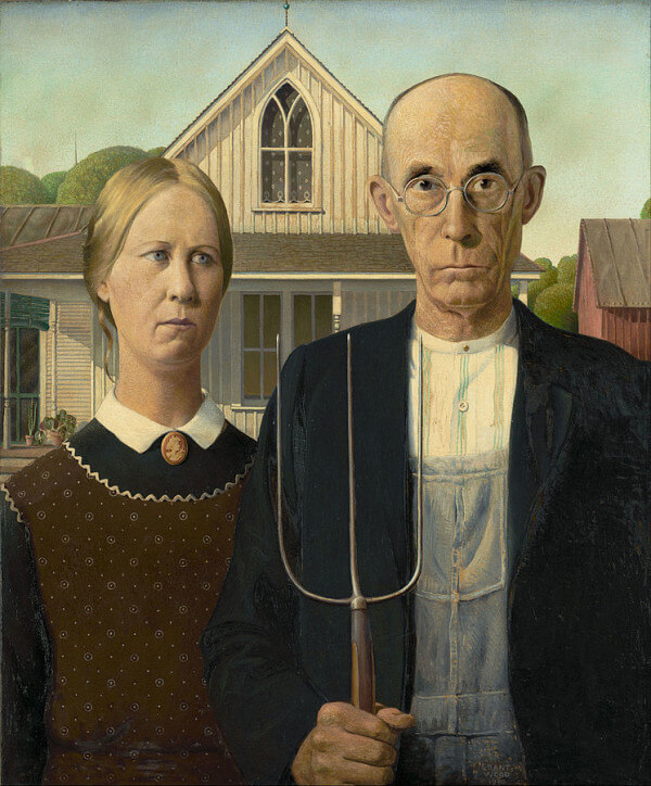 American Gothic – Grant Wood