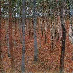 Beech Forest - Gustav Klimt