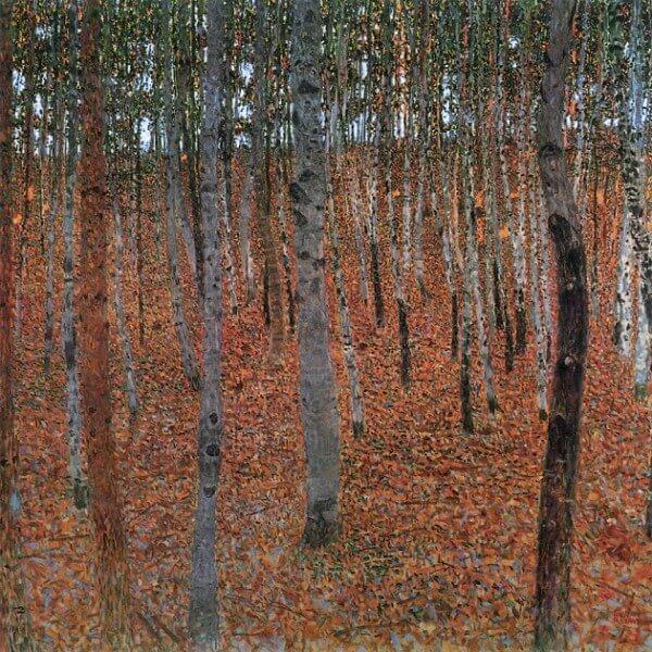 Beech Forest – Gustav Klimt