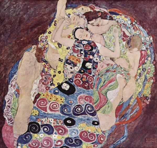 The Virgin (Die Jungfrau) – Gustav Klimt