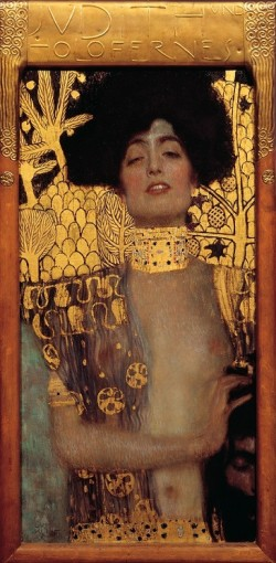 Judith and the Head of Holofernes - Gustav Klimt