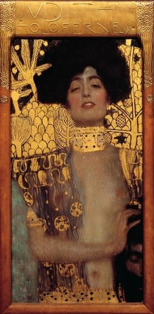 Judith and the Head of Holofernes - Gustav Klimt