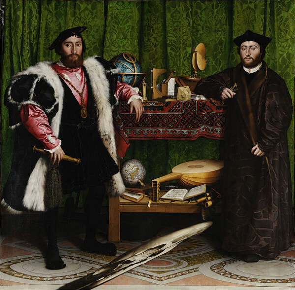 The Ambassadors – Hans Holbein the Younger