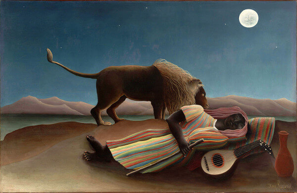 The Sleeping Gypsy – Henri Rousseau