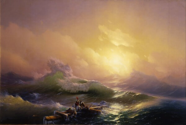The Ninth Wave – Ivan Aivazovsky