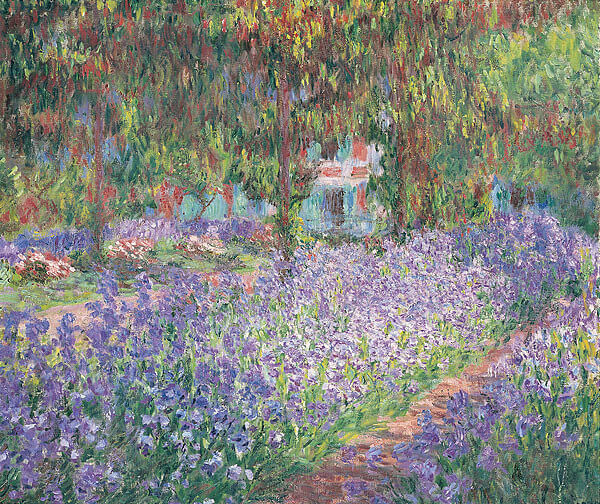 Irises In Monet's Garden – Claude Oscar Monet