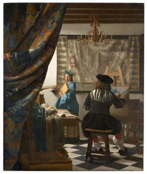 The Art of Painting - Johannes Vermeer