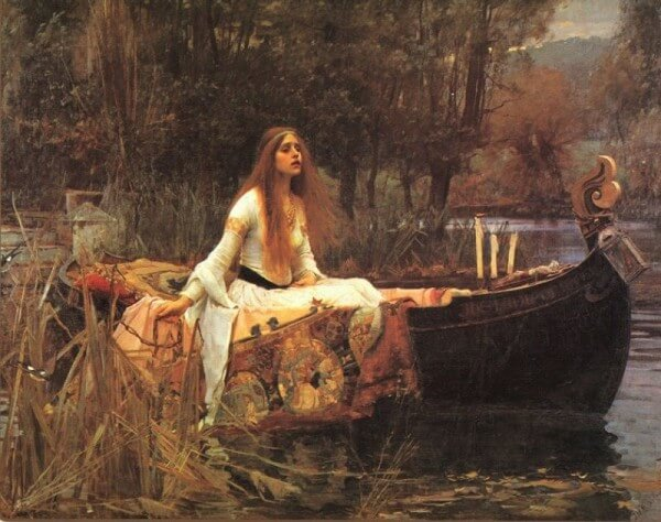 The Lady of Shalot – John William Waterhouse