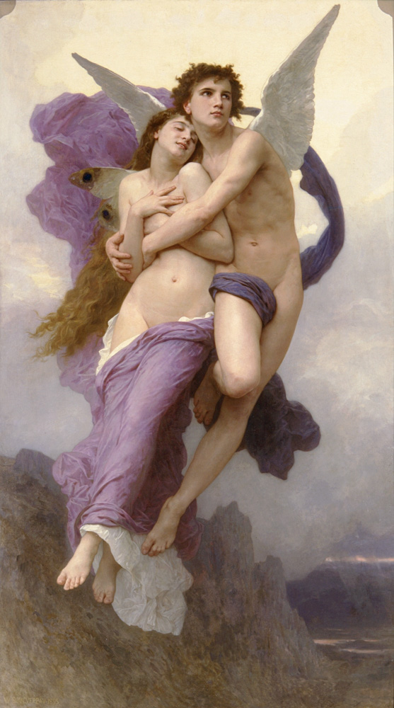Le Ravissement de Psyche – William-Adolphe Bouguereau