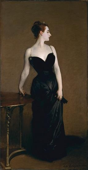 Madame X (Madame Pierre Gautreau), John Singer Sargent 1884