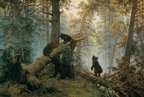 Morning in a Pine Forest – Ivan Shishkin