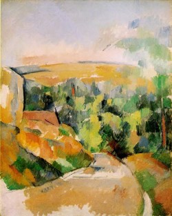A Bend In The Road - Paul Cezanne