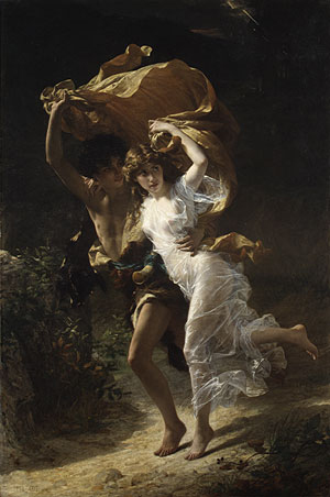 The Storm – Pierre Auguste Cot
