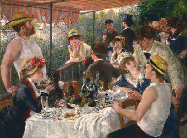 Luncheon of the Boating Party – Pierre-Auguste Renoir