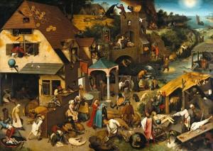 Dutch Proverbs - Pieter Bruegel the Elder