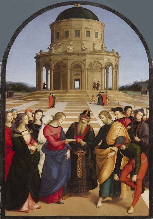 The Marriage of the Virgin – Raphael