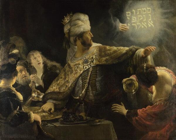 Belshazzar's Feast – Rembrandt