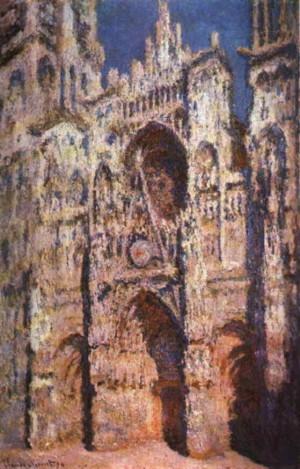 Cathedrale de Rouen - Claude Monet