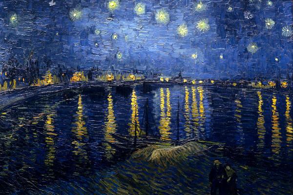 Starry Night Over the Rhone – Vincent van Gogh