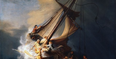 Storm on the Sea of Galilee by Rembrandt, 1633