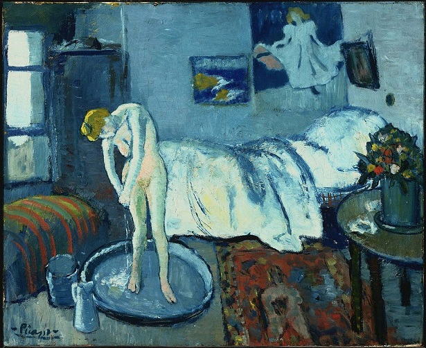 The Blue Room by Picasso, 1901