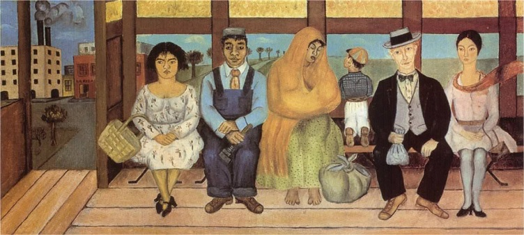 The Bus by Frida Kahlo