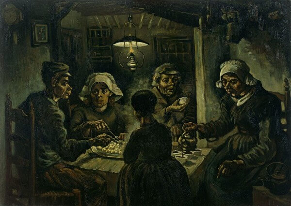 The Potato Eaters – Vincent van Gogh