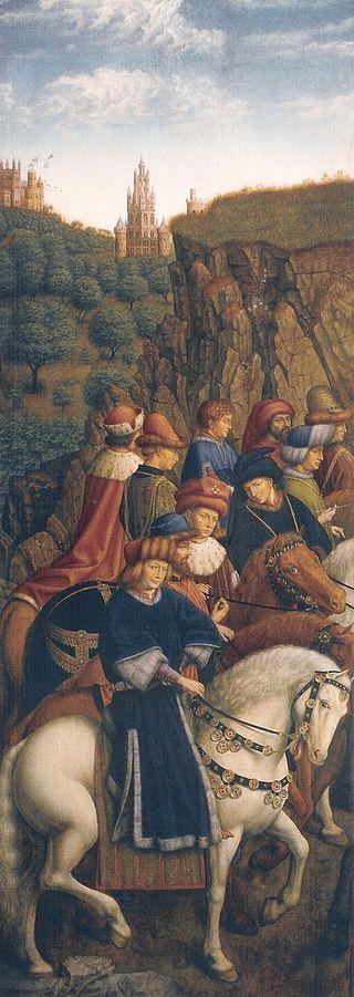 The Righteous Judges by Jan van Eyck, 1432