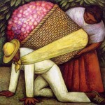 The Flower Carrier - Diego Rivera