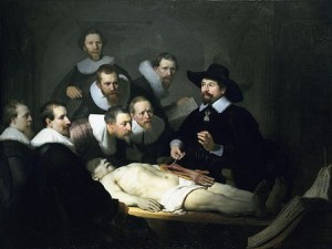 The Anatomy Lesson of Dr. Nicolaes Tulp - Rembrandt