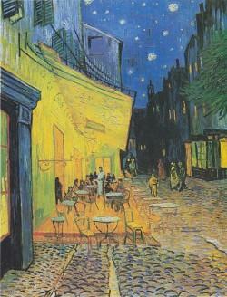 Café Terrace at Night - Vincent van Gogh