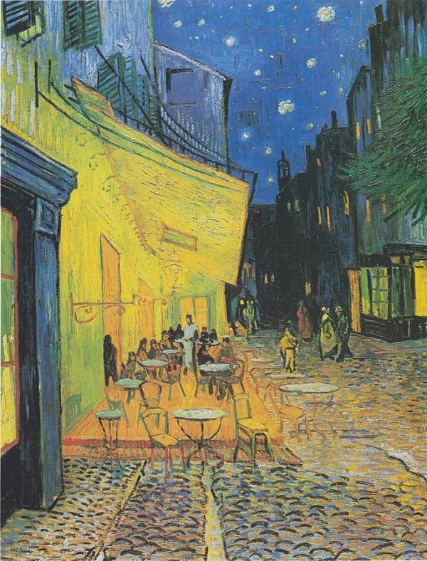 Café Terrace at Night – Vincent van Gogh