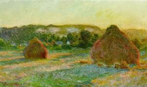 Haystacks / Wheatstacks - Claude Monet