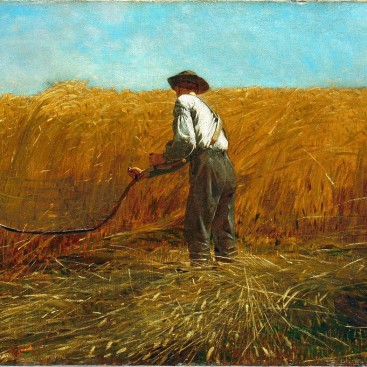 The Veteran in a New Field - Winslow Homer