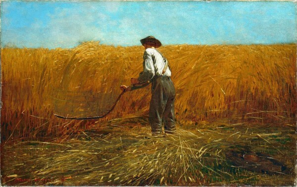 The Veteran in a New Field – Winslow Homer