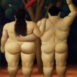 Adam and Eve - Fernando Botero