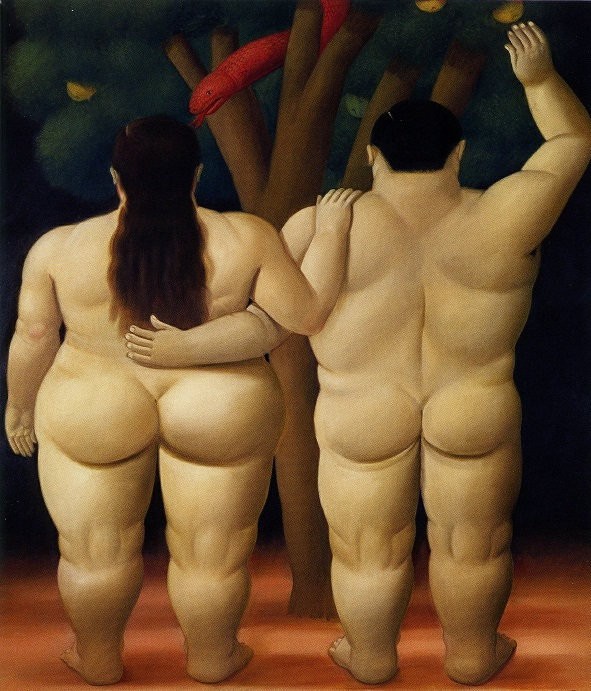 Adam and Eve – Fernando Botero