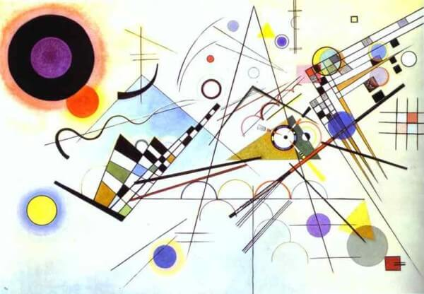 Composition 8 – Wassily Kandinsky