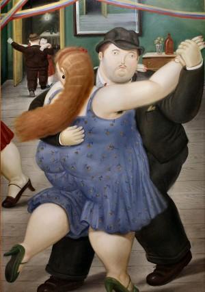 Dancers - Fernando Botero